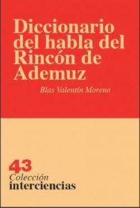 Diccionario del habla del Rincón de Ademúz